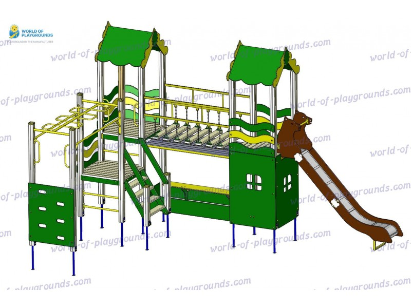 Игровой комплекс (горка 1,5 м) wp922