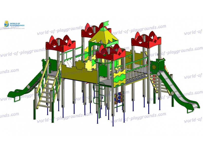 Игровой комплекс (горка 1,5 м) wp924