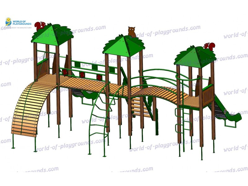 Play structure (Slide 1,5 м) wp928